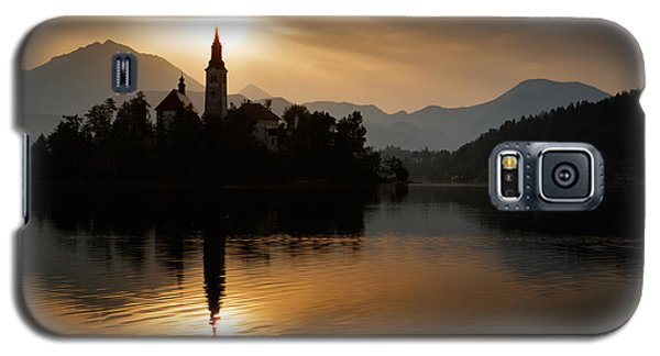 Sunrise At Lake Bled Galaxy S5 Case by Ian Middleton