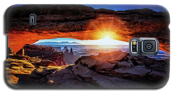Sunrise At Mesa Arch Galaxy S5 Case