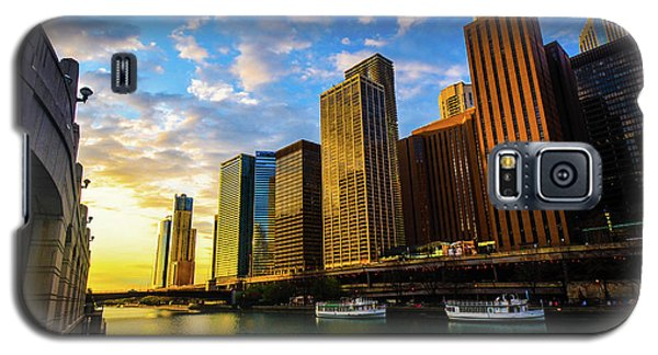 Sunrise At Navy Pier Galaxy S5 Case