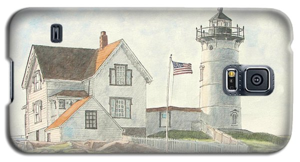 Sunrise At Nubble Light Galaxy S5 Case