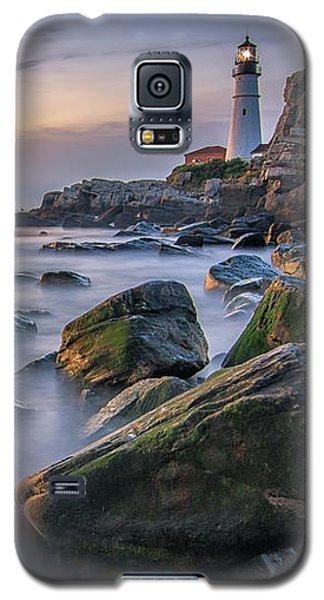 Sunrise At Portland Head Light Galaxy S5 Case