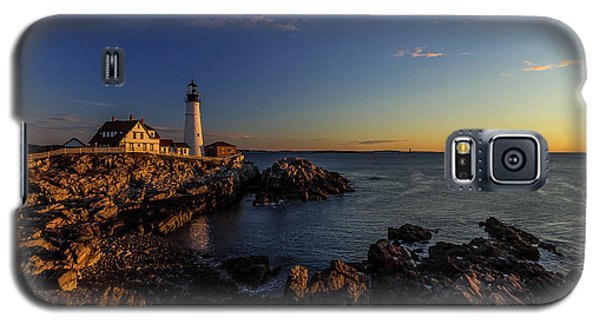 Sunrise At Portland Headlight Galaxy S5 Case