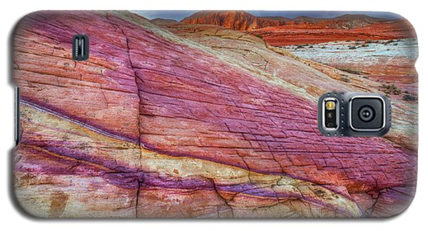 Galaxy S5 Case featuring the photograph Sunrise At Rainbow Rock by Darren White