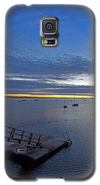Sunrise At The Barnstable Yacht Club Galaxy S5 Case