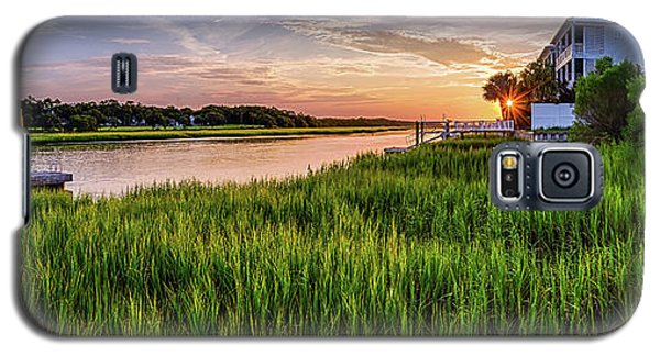 Sunrise At The Boat Ramp Galaxy S5 Case