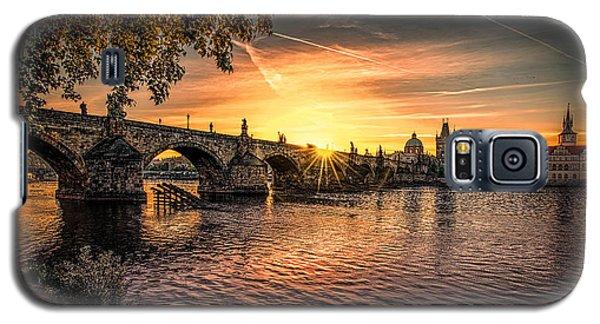 Sunrise At The Charles Bridge Galaxy S5 Case