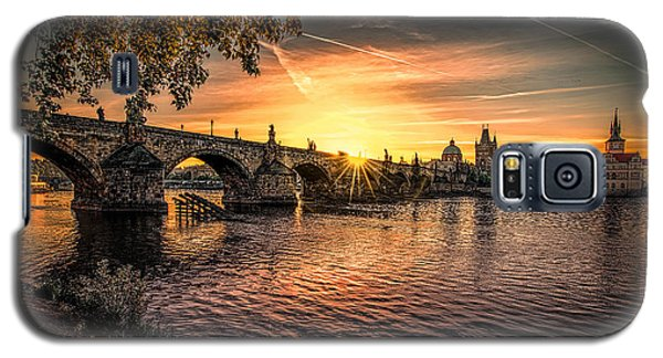 Sunrise At The Charles Bridge Galaxy S5 Case