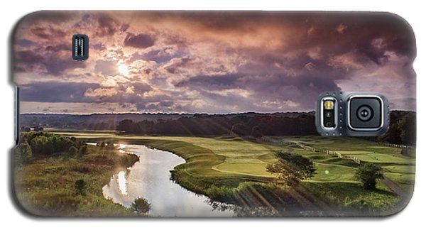 Sunrise At The Course Galaxy S5 Case