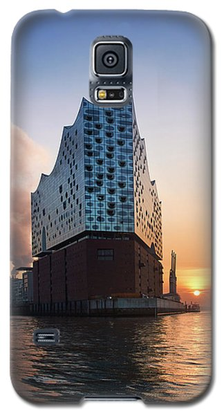 Sunrise At The Elbe Philharmonic Hall Galaxy S5 Case