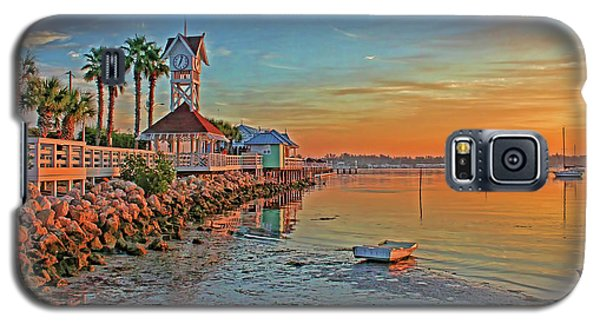 Sunrise At The Pier Galaxy S5 Case