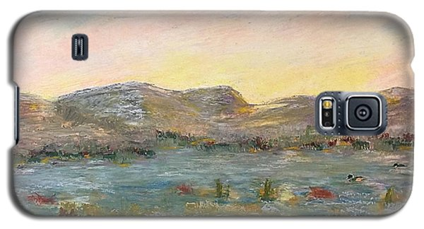 Sunrise At The Pond Galaxy S5 Case