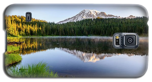 Mount Rainier Viewed From Reflection Lake Galaxy S5 Case