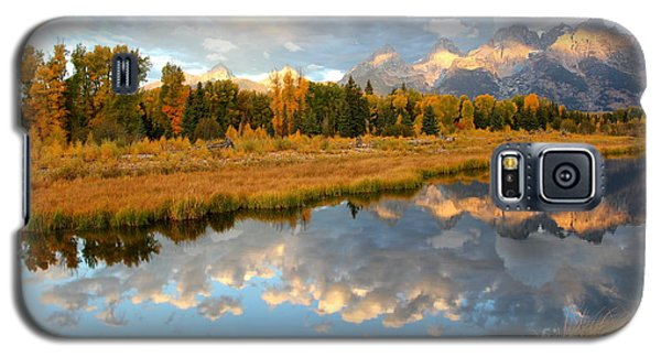 Sunrise At The Tetons Galaxy S5 Case