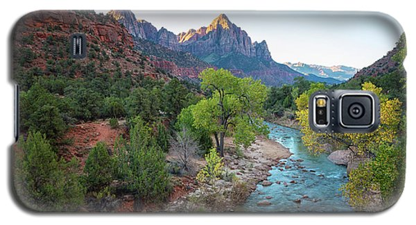 Sunrise At The Watchman - Zion National Park - Utah Galaxy S5 Case