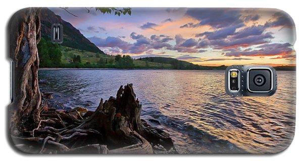 Sunrise At Waterton Lakes Galaxy S5 Case