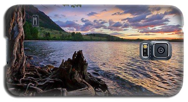Sunrise At Waterton Lakes Galaxy S5 Case by Dan Jurak