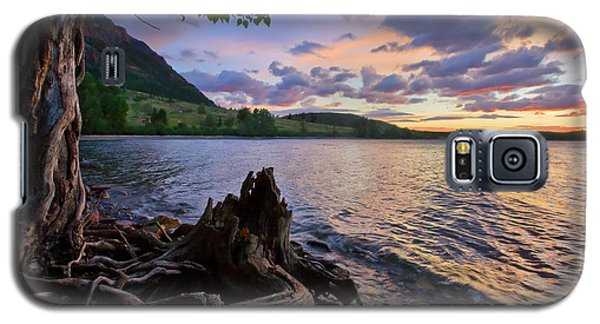 Sunrise At Waterton Lakes Galaxy S5 Case