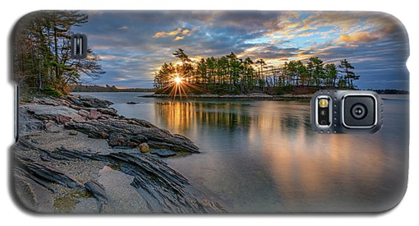 Sunrise At Wolfe's Neck Woods Galaxy S5 Case by Rick Berk