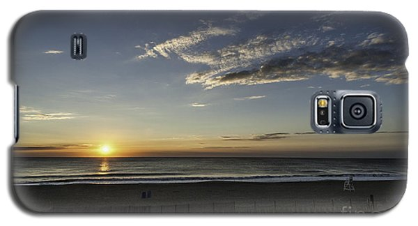 Sunrise Beach Oc Galaxy S5 Case by Jim Moore