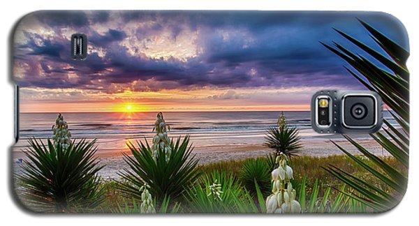 Sunrise Blooms Galaxy S5 Case