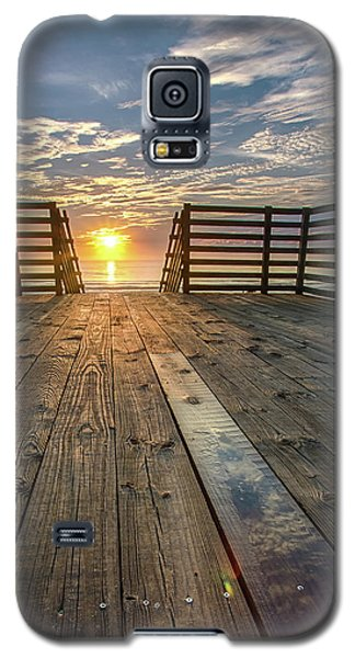 Sunrise Boardwalk Galaxy S5 Case