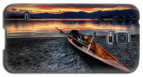 Sunrise Boat Galaxy S5 Case