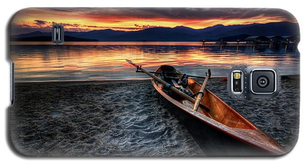 Sunrise Boat Galaxy S5 Case
