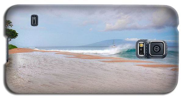 Galaxy S5 Case featuring the photograph Sunrise Break by Kelly Wade