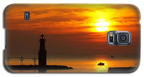 Sunrise Brushstrokes Galaxy S5 Case by Bill Pevlor