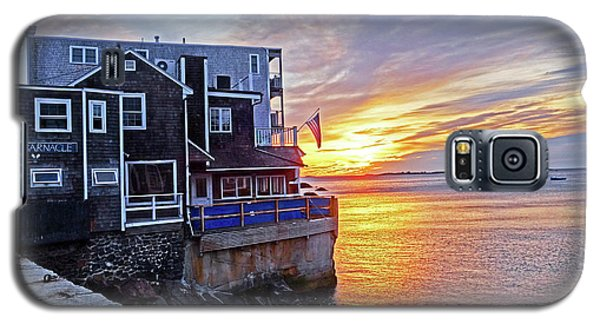 Sunrise By The Barnacle Marblehead Ma Galaxy S5 Case