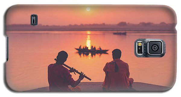 Sunrise By The Ganges Galaxy S5 Case