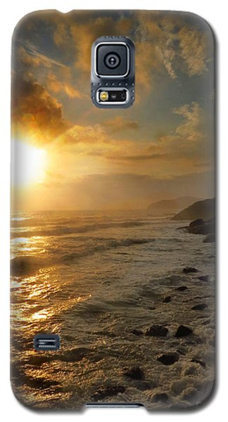 Sunrise By The Rocks Galaxy S5 Case
