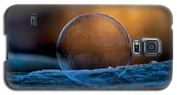 Sunrise Capture In Bubble Galaxy S5 Case
