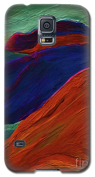 Galaxy S5 Case featuring the painting Sunrise Castle 2  by First Star Art