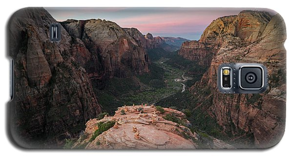 Sunrise From Angels Landing Galaxy S5 Case