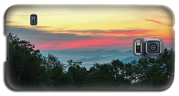 Sunrise From Maggie Valley August 16 2015 Galaxy S5 Case