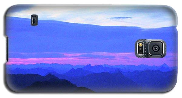Sunrise From Pilchuck Summit Galaxy S5 Case