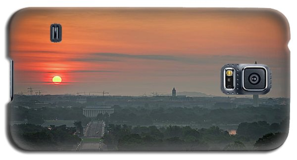 Sunrise From The Arlington House Galaxy S5 Case