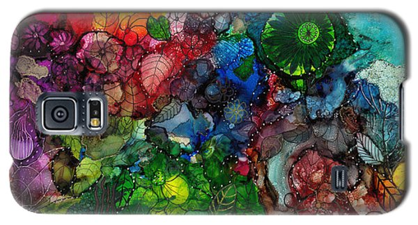 Sunrise Garden Explosion Galaxy S5 Case