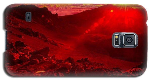 Sunrise Haleakala Galaxy S5 Case by Harry Spitz