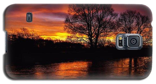 Galaxy S5 Case featuring the photograph Sunrise II by Franziskus Pfleghart