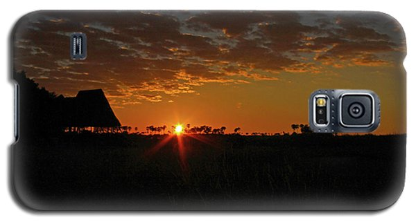 Sunrise In Botswana Galaxy S5 Case