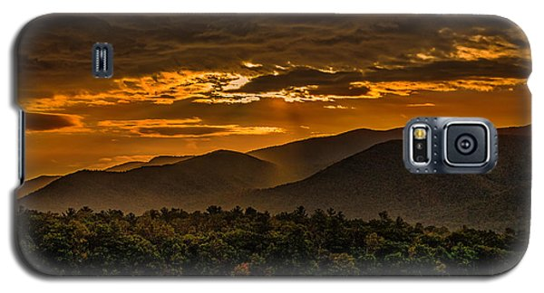 Sunrise In Cades Cove Great Smoky Mountains Tennessee Galaxy S5 Case