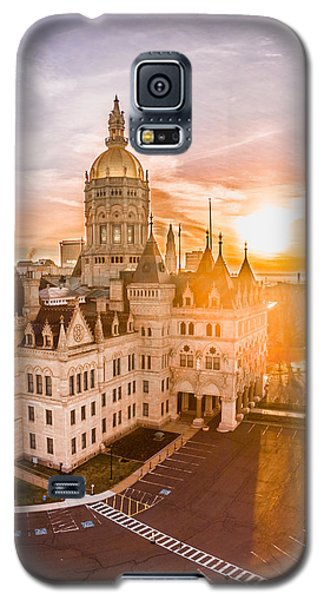 Sunrise In Hartford Connecticut Galaxy S5 Case by Petr Hejl