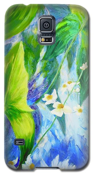 Sunrise In My Garden Galaxy S5 Case by Irene Hurdle