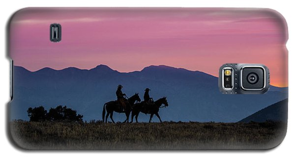 Sunrise In The Lost River Range Wild West Photography Art By Kay Galaxy S5 Case