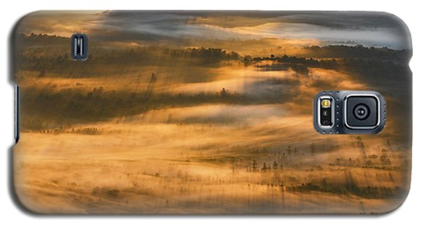 Sunrise In The Valley Galaxy S5 Case
