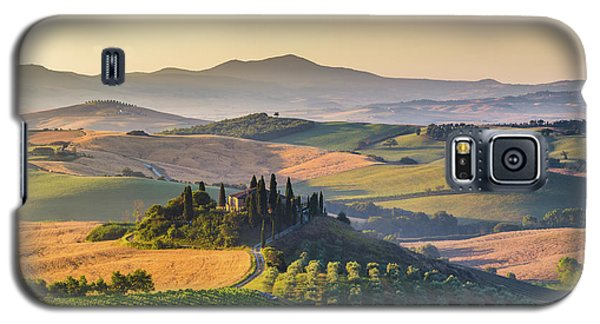 Sunrise In Tuscany Galaxy S5 Case by JR Photography
