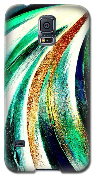 Sunrise In Water Fall Galaxy S5 Case
