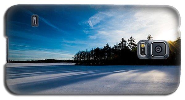 Sunrise In Winter Galaxy S5 Case